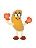 Peanut man mascot vector Stock Images