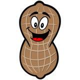 Peanut Mascot Royalty Free Stock Photography