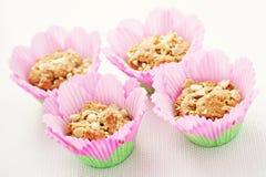 Peanut muffins Royalty Free Stock Image