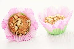 Peanut muffins Stock Photos