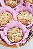 Peanut muffins Royalty Free Stock Photos
