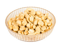 Peanut nuts isolated Stock Image