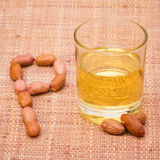Peanut Oil Stock Photography