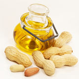 Peanut oil Stock Photos