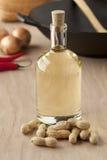 Peanut oil Stock Image