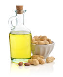 Peanut oil Royalty Free Stock Photo