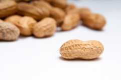 Peanut and pile Royalty Free Stock Images