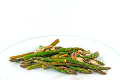 Peanut Roasted Asparagus Stock Photos