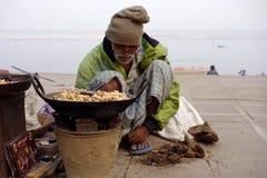 Peanut Sales Man Stock Photos