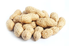 Peanut shells Royalty Free Stock Images