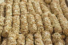 Peanut snacks Stock Photo
