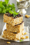 Peanut squares Royalty Free Stock Photos