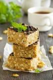Peanut squares Stock Image
