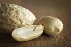 Peanut on a table Stock Photos
