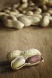 Peanut on a table Royalty Free Stock Photography