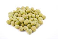 Peanut wasabi flavor Stock Image