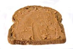 peanutbutter kanapka? fotografia stock