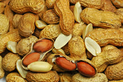 Peanuts. A healthy snack food Stock Photography