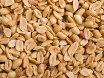 Peanuts. Close up from lots of salted peanuts Royalty Free Stock Images