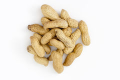 Peanuts from above Royalty Free Stock Image