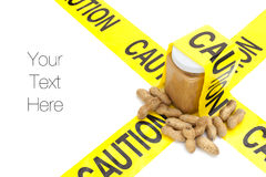Peanuts allergies Royalty Free Stock Photography