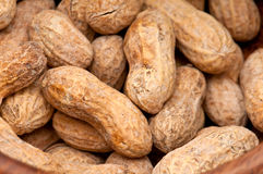 Peanuts Background Close up Royalty Free Stock Photo