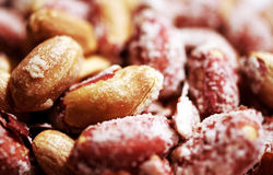 Peanuts background Royalty Free Stock Image