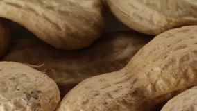 Peanuts bio food snack. For party stock video