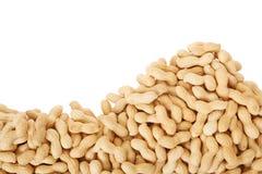 Peanuts border Stock Image