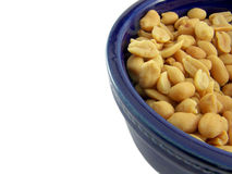 Peanuts in bowl Stock Photos
