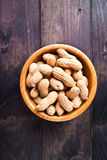 Peanuts in bowl Royalty Free Stock Photography