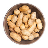 Peanuts bowl Royalty Free Stock Photography