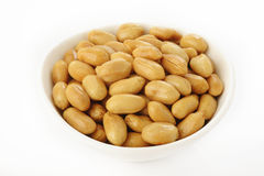 Peanuts in bowl Royalty Free Stock Photo