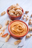Peanuts butter Royalty Free Stock Photos