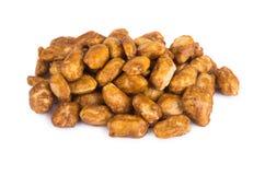 Peanuts in caramel Stock Image