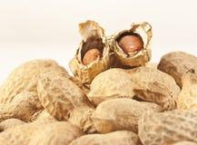 Peanuts close up Royalty Free Stock Image