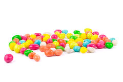 Peanuts dragee in colorful cover. Royalty Free Stock Image