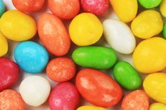 Peanuts dragee in colorful cover. Royalty Free Stock Photography