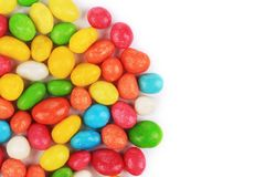 Peanuts dragee in colorful cover. Stock Photography