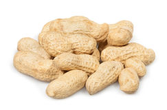 Peanuts heap Stock Photos