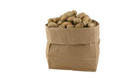Peanuts In A Bag Royalty Free Stock Photography