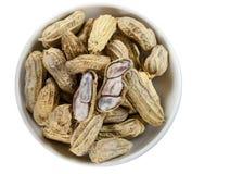 Peanuts isolated Stock Photography