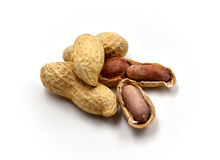 Peanuts Isolated royalty free stock image