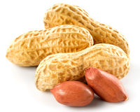 Peanuts Isolated Royalty Free Stock Images