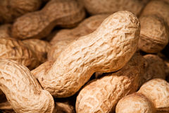 Peanuts macro Royalty Free Stock Photo