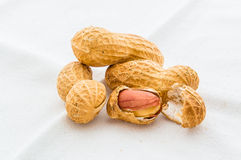 Peanuts macro Royalty Free Stock Photography