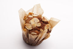 Peanuts on muffin Royalty Free Stock Photo