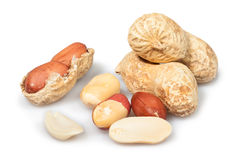 Peanuts open Stock Image