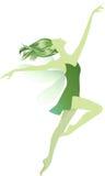 Green fairy Stock Photography