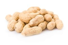 Peanuts pile Royalty Free Stock Photo